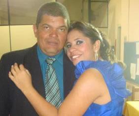 Suziane Carvalho aniversariante de hoje, com o esposo Uanderson Julio
