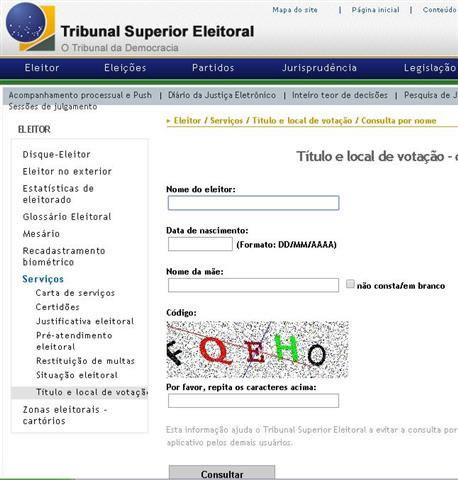 Além do aplicativo para smatphones e tabletes, a sessão eleitoral pode ser conferida por meio do site do TSE. Foto: TSE