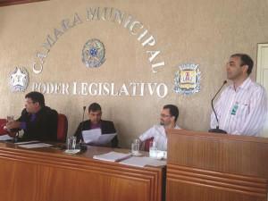 Municipalização da Iluminação Pública foi a pauta da sessão ordinária. Foto: Gazeta do Triângulo