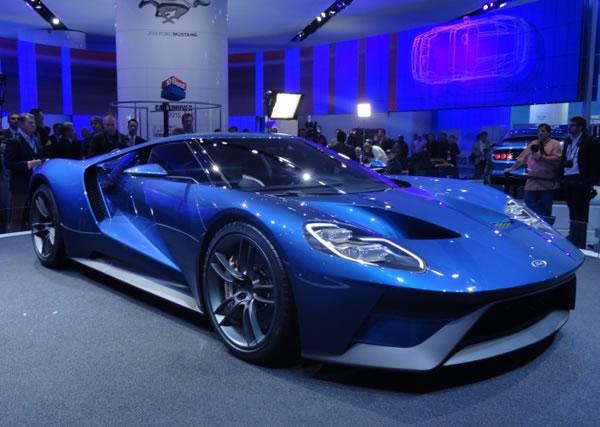 Ford GT Concept. Foto: Divulgação