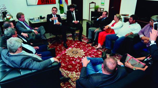 Deputado Zé Vitor lidera comitiva mineira para discutir novo pacto federativo