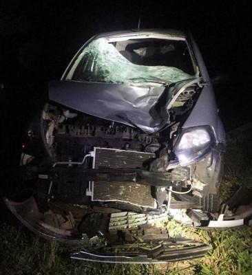 Veículo envolvido no acidente fatal ** Divulgação