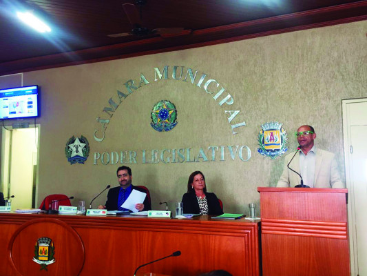 Coordenador da CUFA fez uso da tribuna na Câmara Municipal