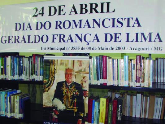 Academia de Letras e Artes de Araguari comemora o Dia do Romancista em homenagem a Geraldo França de Lima