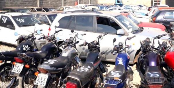 Oitavo leilão de veículos do ano será realizado pela Polícia Civil em Araguari ** Arquivo