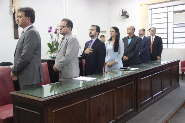 Solenidade aconteceu no Tribunal do Júri do Fórum de Araguari ** Ascom – Prefeitura de Araguari