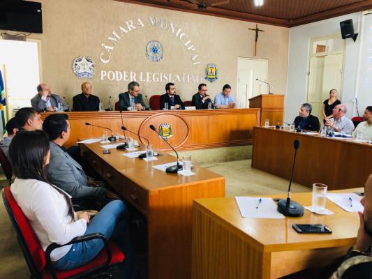 Audiência teve por finalidade debater mecanismos de reforma do novo prédio para a Delegacia da Mulher