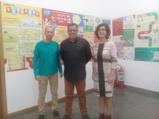 Coordenador de Araguari faz visita técnica na Escola do Legislativo da ALMG