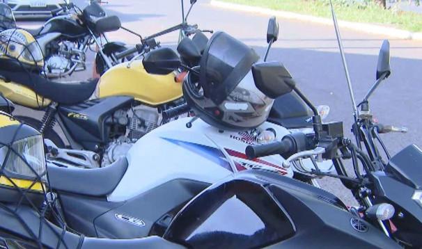 Cerca de 40 pontos de mototáxi estão espalhados pela cidade