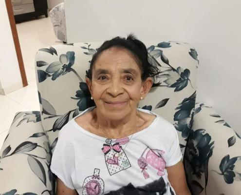 Sebastiana de Fátima Gomes completou 77 anos ontem 20/1. Parabéns!