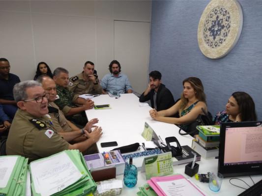 Primeira atuação após a reunião acontece hoje com equipes da secretaria e polícia de Meio Ambiente