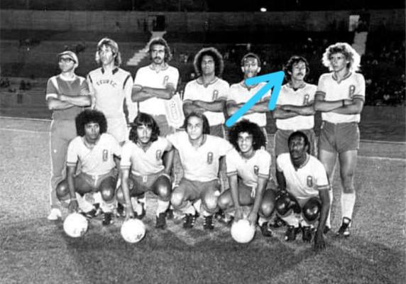 Renê defendeu a forte equipe do Brasília, na década de 80 ** Divulgação