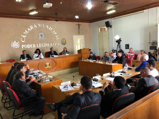 Vereadores continuam com as definições das comissões temáticas