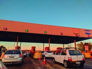 Praça de pedágio entre Araguari e Uberlândia é uma das mais movimentadas da rodovia