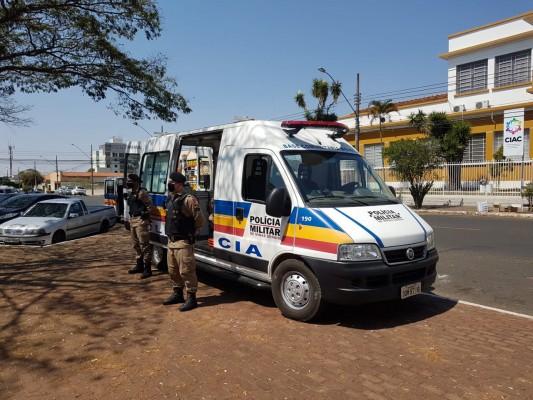 Base Comunitária de Segurança (BCM) em atuação nos locais de maior incidência de crimes