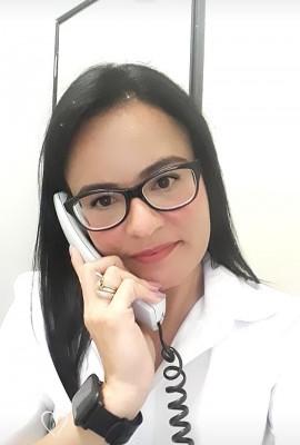 Andréia Beatriz trabalha como telefonista no Fórum Oswaldo Pieruccetti há 14 anos