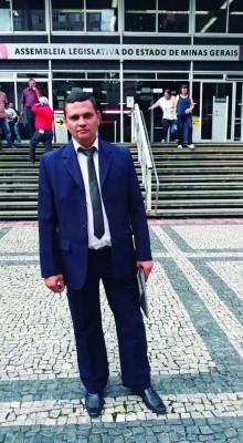 Claytinho Brazão, vereador eleito em Araguari